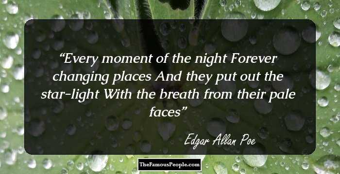 Elegant Edgar Allan Quotations