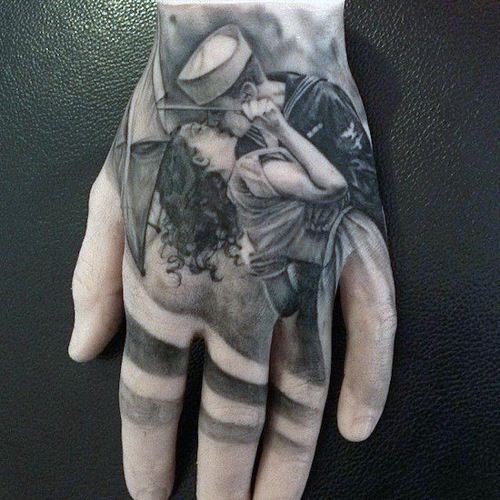 Elegant Hand Tattoos