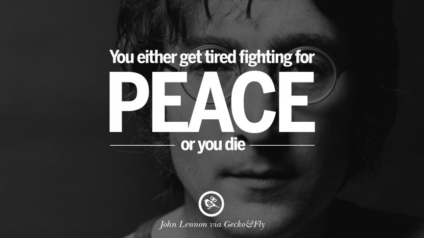 Elegant John Lennon Quotations