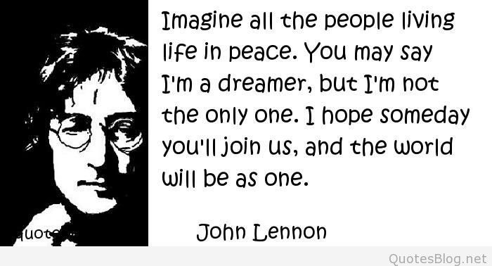 Elegant John Lennon Sayings