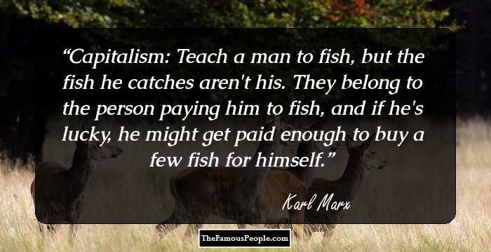 Elegant Karl Marx Quotations