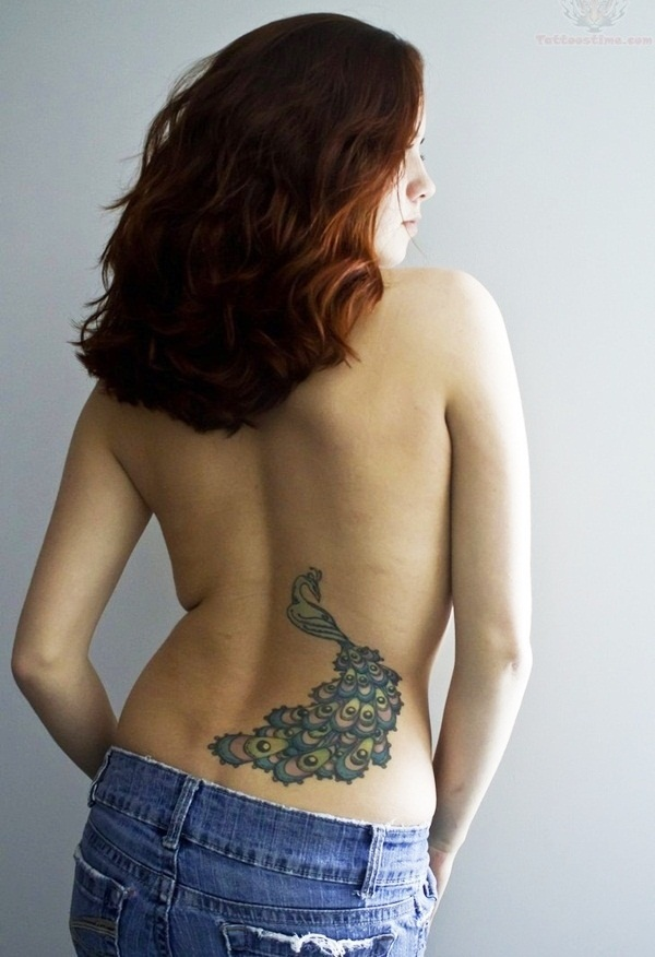 Elegant Lower Back Tattoos