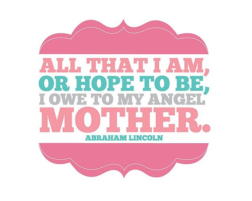 Elegant Mother Quotations and Quotes