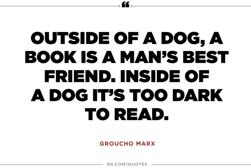 12 Wise Groucho Marx Quotes | Reader's Digest with regard to Funny Wise Quotes and Sayings About Life - Reallylovequotes.com