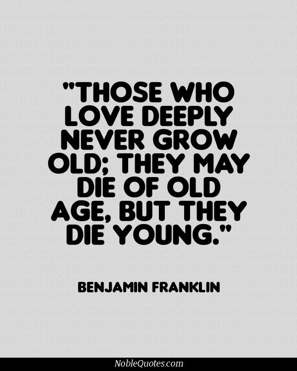 Exclusive Age Sayings