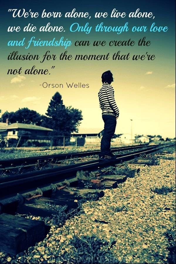 Exclusive Alone Quotes