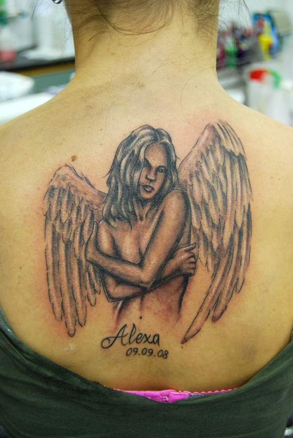 Exclusive Angel Tattoo