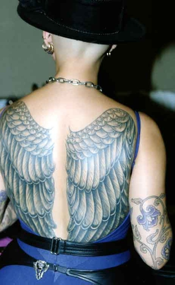 Exclusive Angel Tattoos
