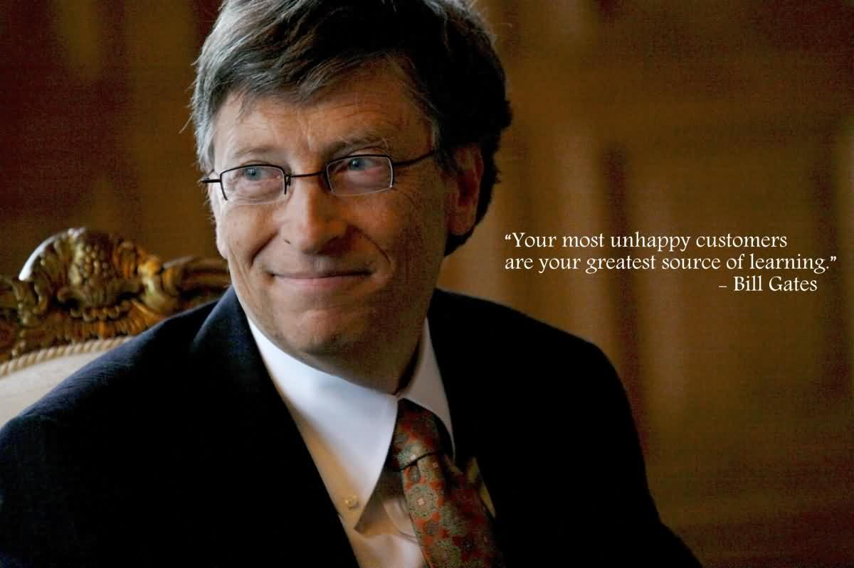 Exclusive Bill Gates Quotes