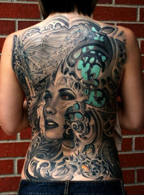 Exclusive Biomechanical Tattoos Designs