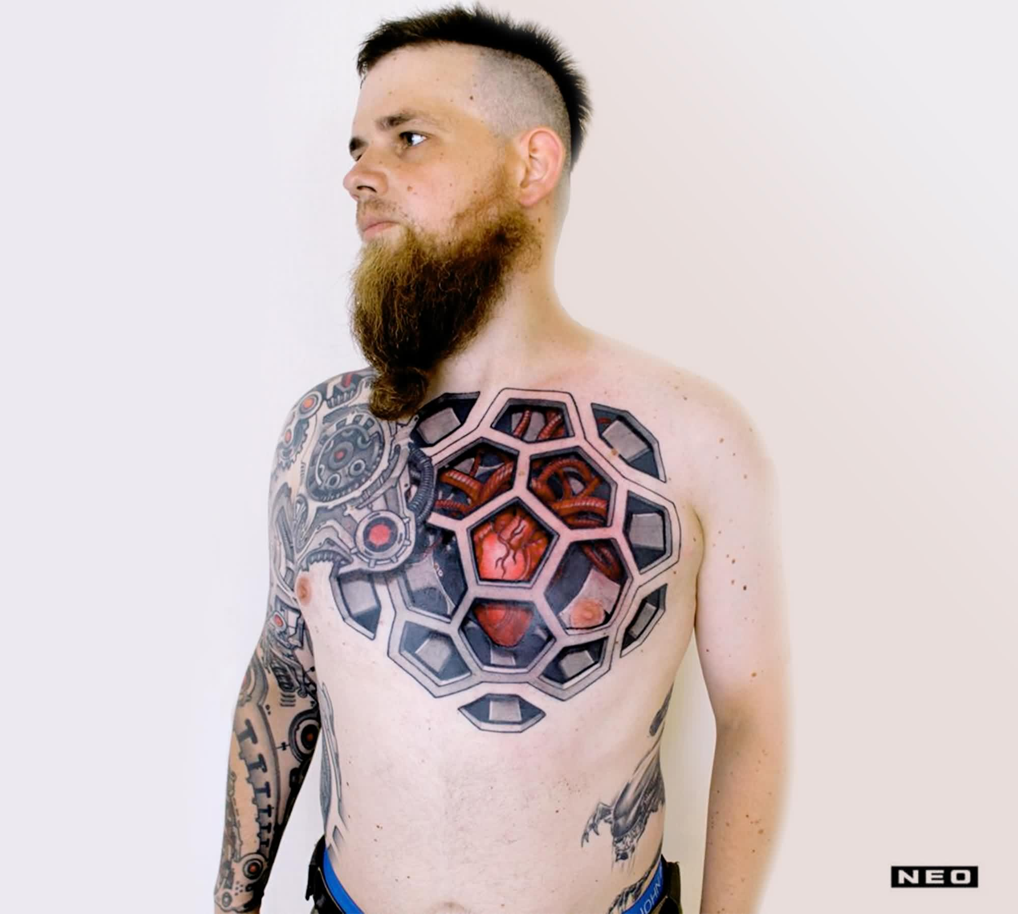 Exclusive Biomechanical Tattoos