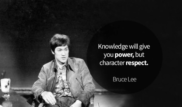 Exclusive Bruce Lee Quotation and Sayings