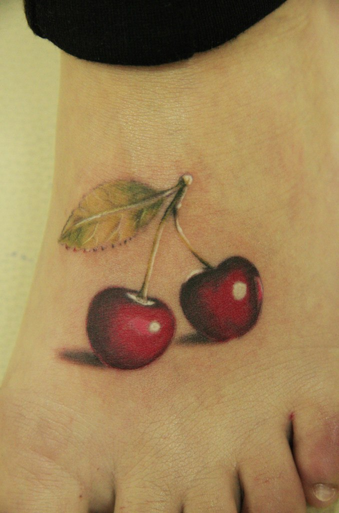 Exclusive Cherry Tattoo