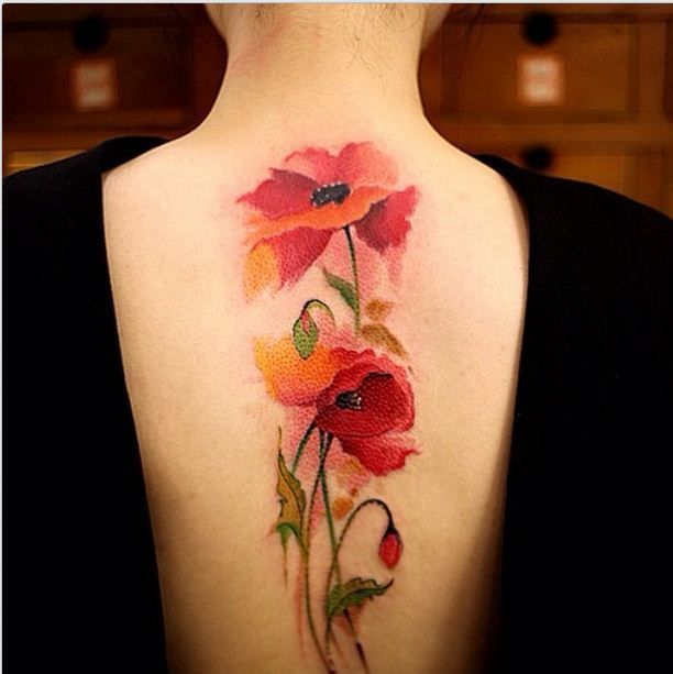Exclusive Colorful Tattoos Designs