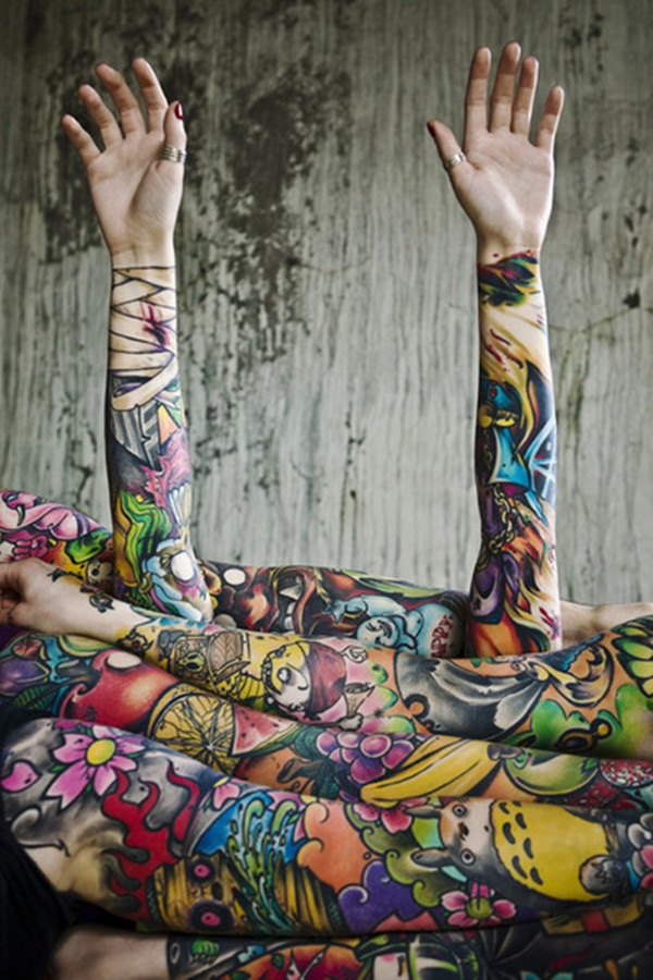 Exclusive Colorful Tattoos