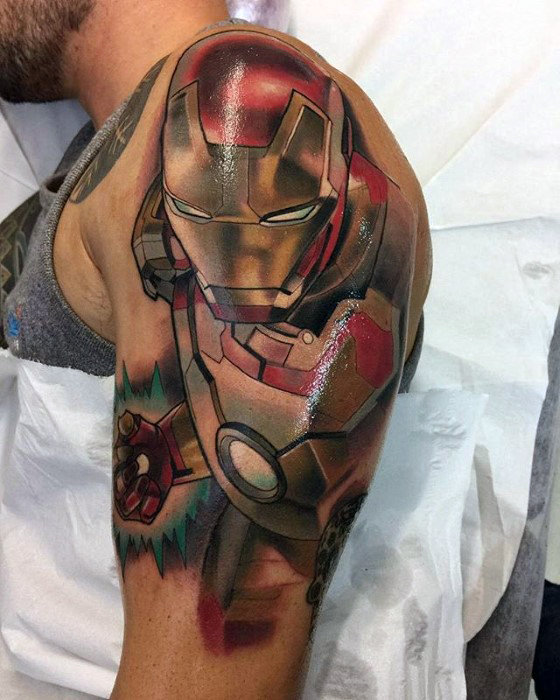 Exclusive Comic Tattoo Designs