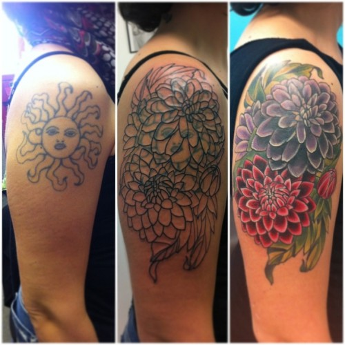 Exclusive Cover Up Tattoo Design