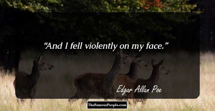 Exclusive Edgar Allan Quotation and Sayings