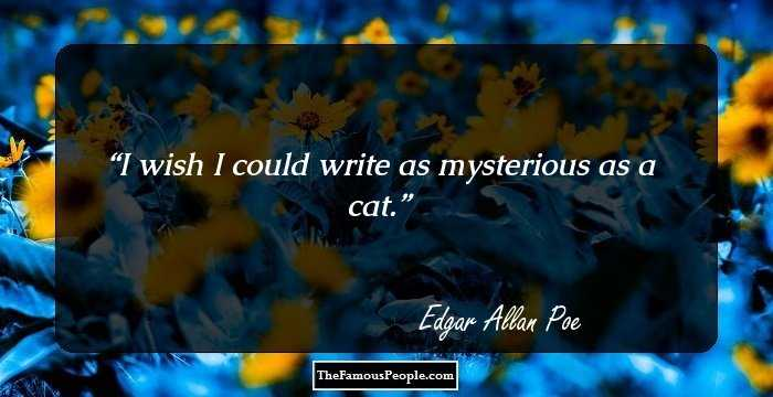 Exclusive Edgar Allan Quotations and Sayings