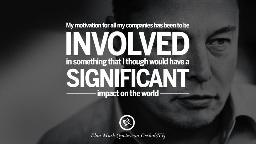Exclusive Elon Musk Quotations