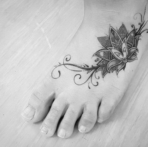 Exclusive Foot Tattoos Designs