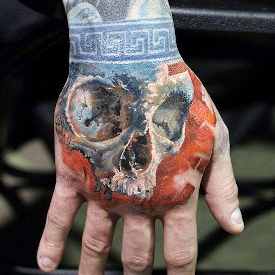 Exclusive Hand Tattoo