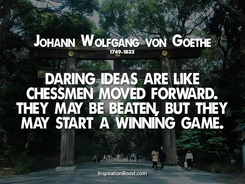 Exclusive Johann Wolfgang Von Goethe Quotes