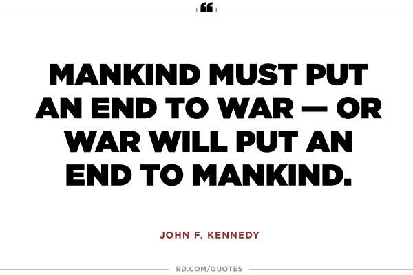 Exclusive John F. Kennedy Quotations