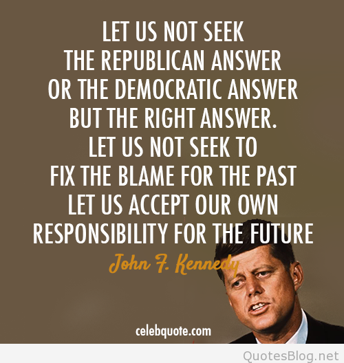 Exclusive John F. Kennedy Quotes
