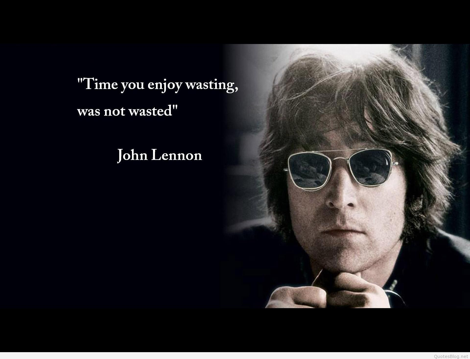Exclusive John Lennon Quotes