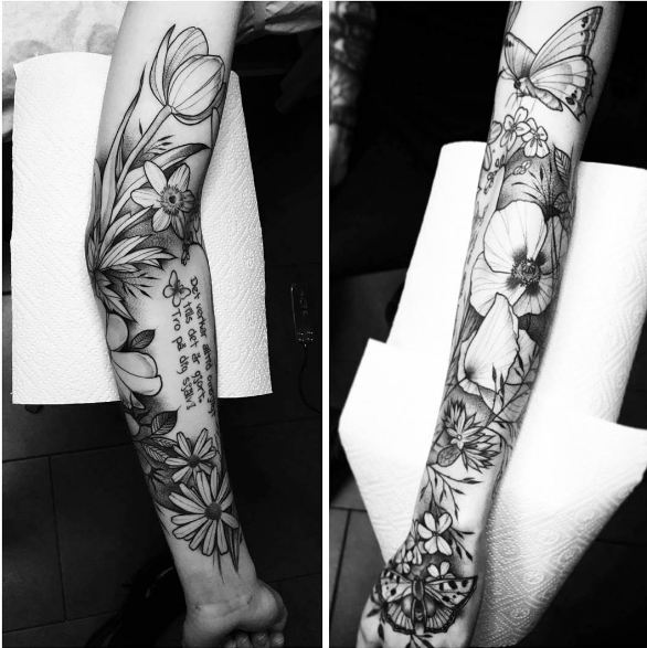 Exclusive Sleeve Tattoo