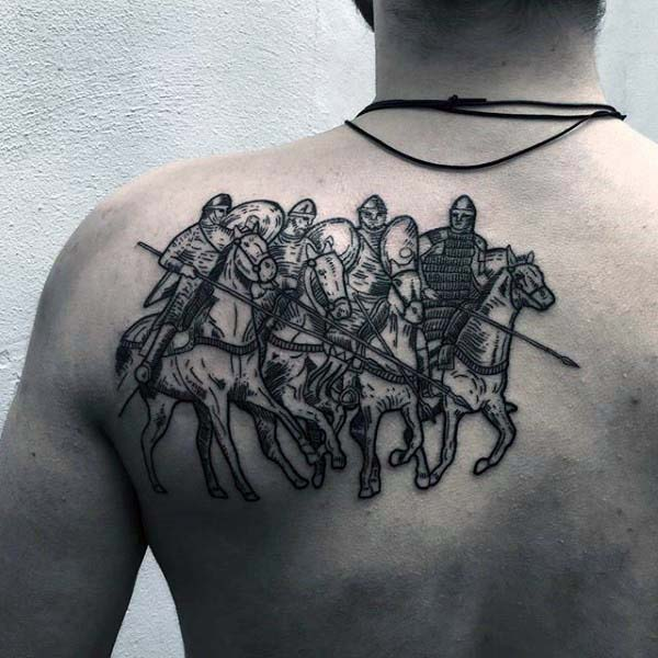 Exclusive Upper Back Tattoo Designs