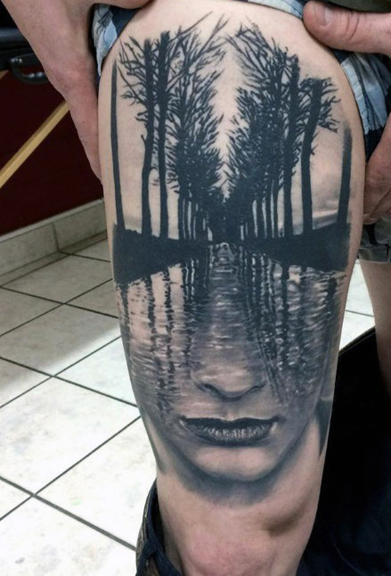 Extreme Abstract Tattoo Designs