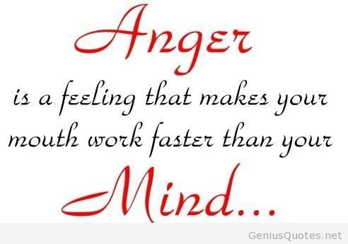 Extreme Anger Quotation