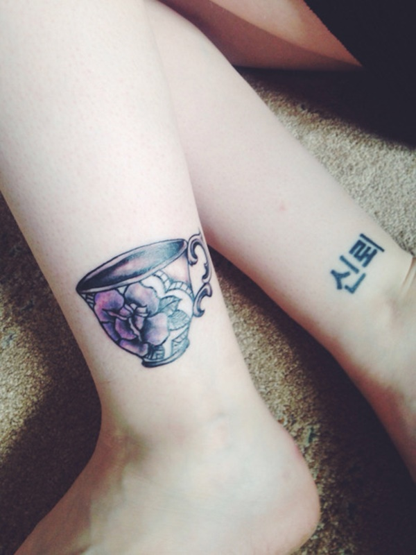 Extreme Ankle Tattoo Designs