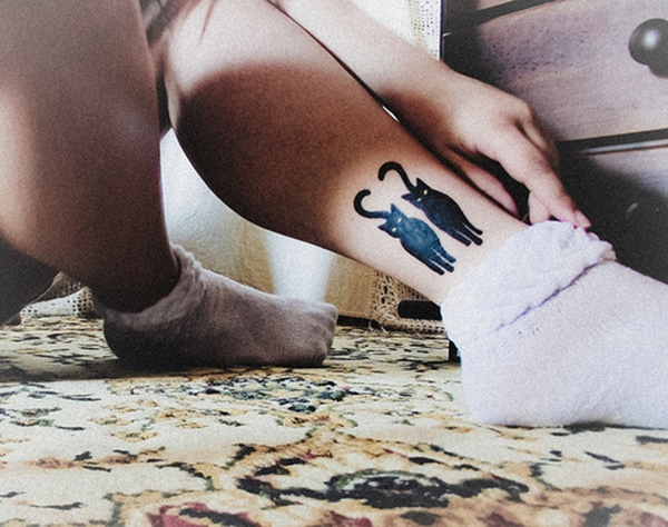 Extreme Ankle Tattoo