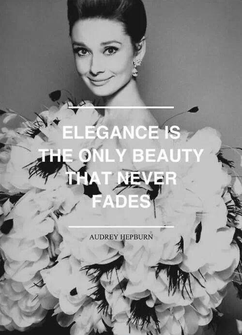 Extreme Audrey Hepburn Quotation