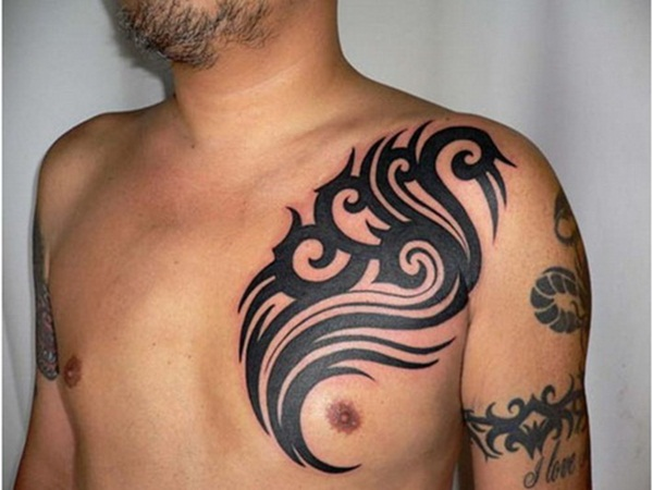Extreme Chest Tattoos Designs