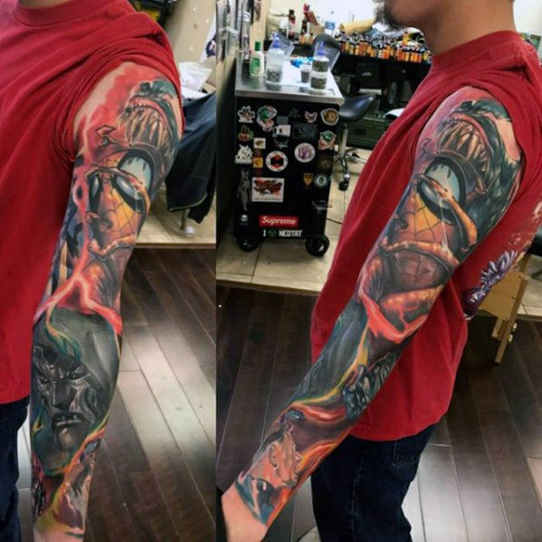 Extreme Comic Tattoo Designs