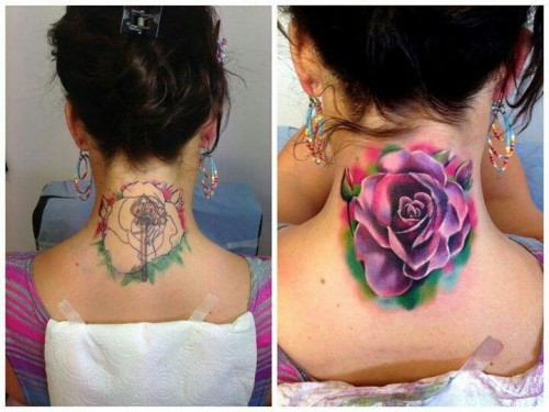 Extreme Cover Up Tattoos Design