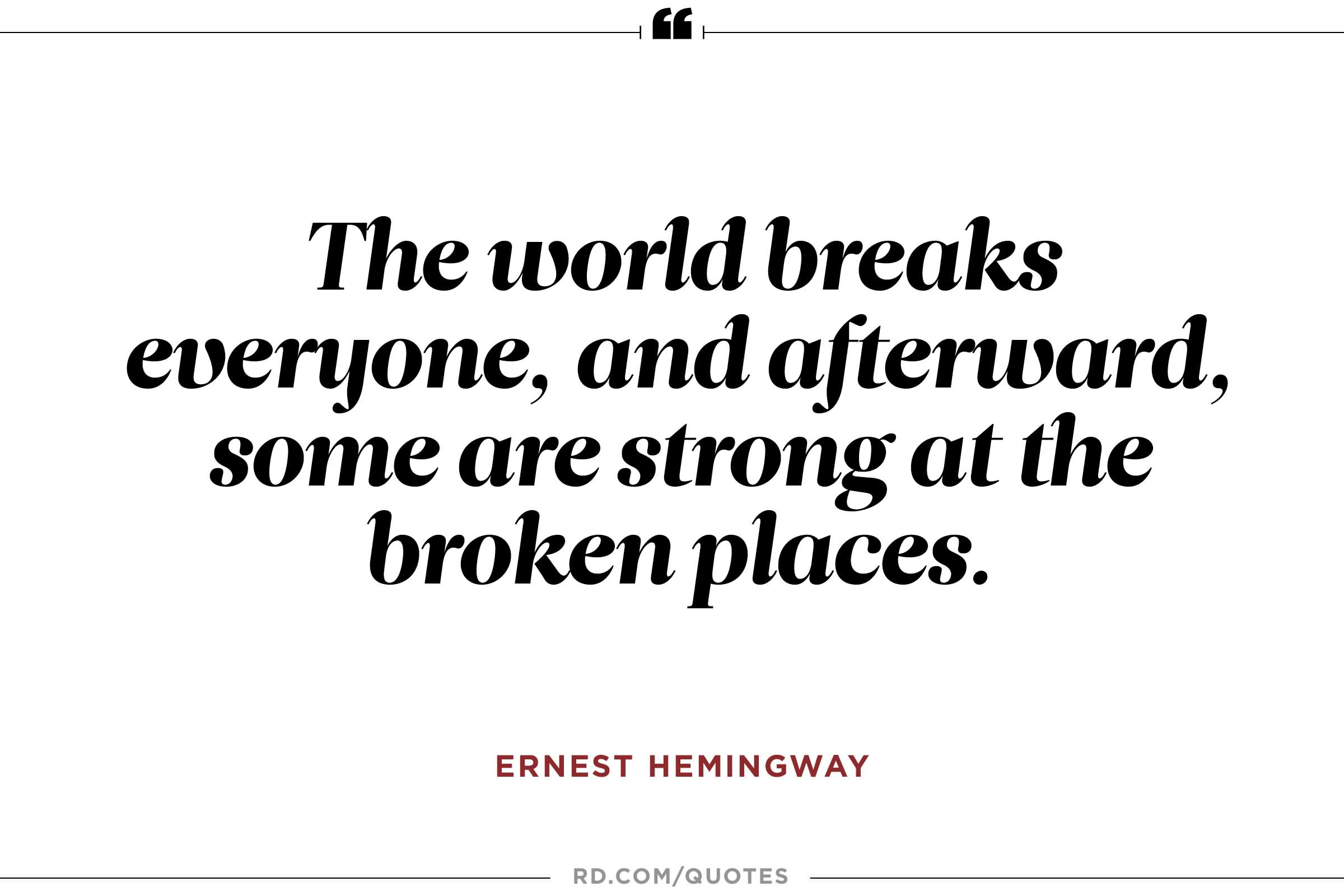 Extreme Ernest Hemingway Quotes