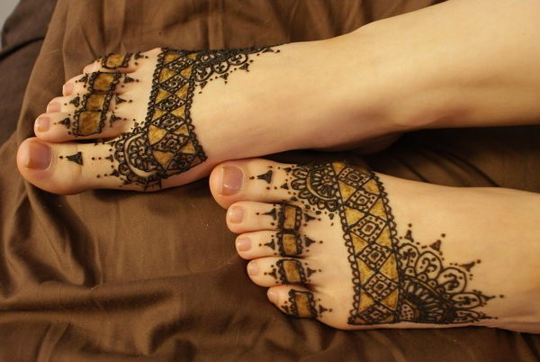 Extreme Foot Tattoo Designs