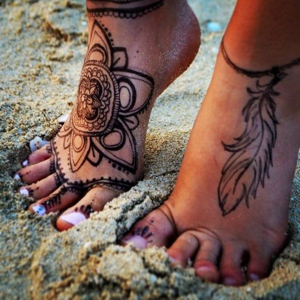 Extreme Foot Tattoos