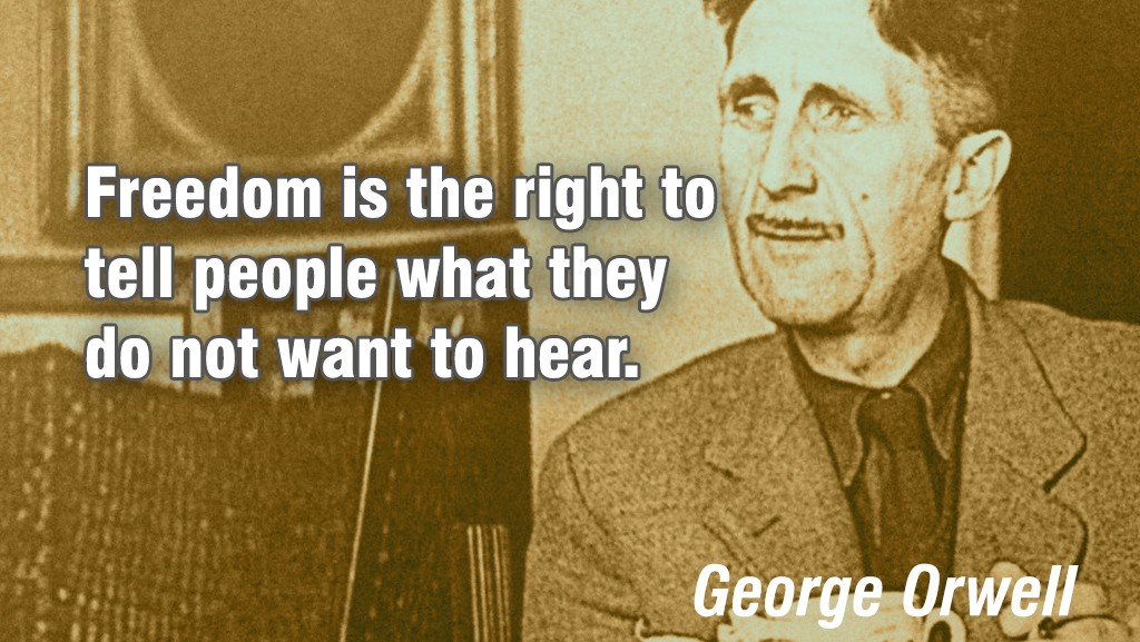 Extreme George Orwell Quotes