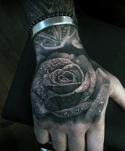 Extreme Hand Tattoo Designs