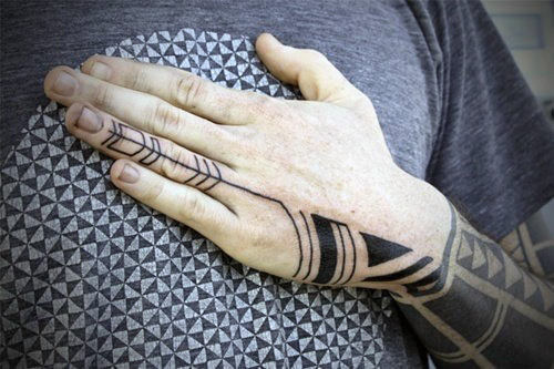 Extreme Hand Tattoos Designs