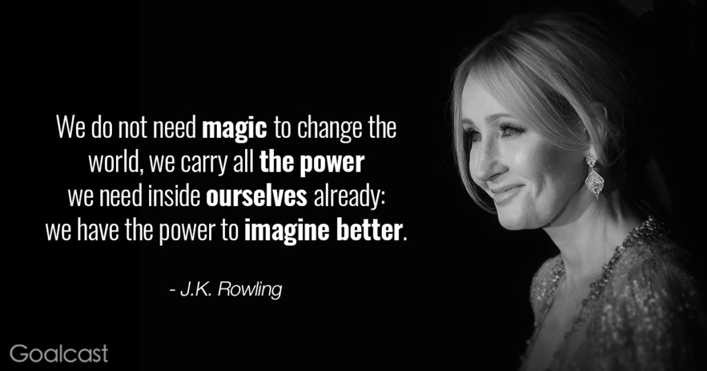 Extreme J K Rowling Quotations