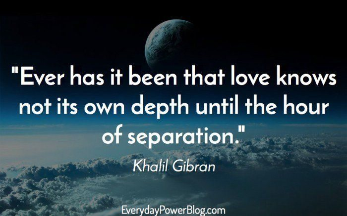 Extreme Khalil Gibran Quotations