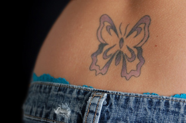 Extreme Lower Back Tattoo Designs