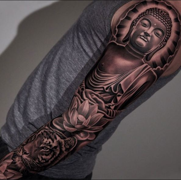 Extreme Sleeve Tattoo Designs